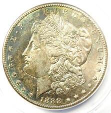 1888-S Morgan Silver Dollar $1 - Certified ANACS AU55 - Rare Date - Near MS UNC!