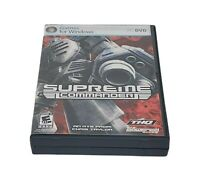 Supreme Commander PC CD-ROM Game