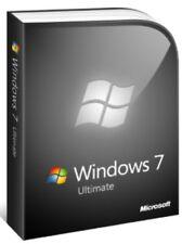 Windows 7 Ultimate SP1 32/64 BITS, Lifetime Clé de licence et lien de téléchargement
