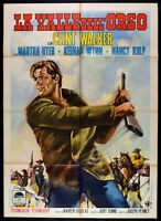 Poster Die Valle Dell' Bär Clint Walker Zuweilen Wynn Nancy Culp M27