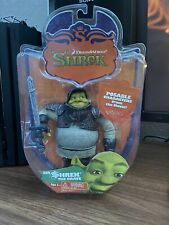 "Sir Shrek The Brave 6"" Articulated Action Figure 2006 Mga DreamWorks Poseable"