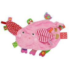 New Label Label Pig Baby Comforter Tag Textures Blankie Pacifier Soft Toy 0m+