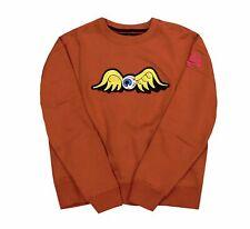 Size X-Large Von Dutch Men/'s Flying Eyeball Crewneck Sweater Espresso