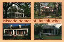 Historic Homes, Natchitoches Louisiana, Chaplin House of Steel Magnolia Postcard