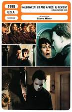 FICHE CINEMA : HALLOWEEN 20 ANS APRES IL REVIENT Curtis,Leigh 1998 Halloween H2O