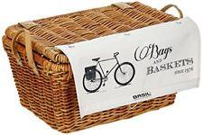 Basil Borsa/cestino Port Land Basket Classic con Coperchio Marrone per bici