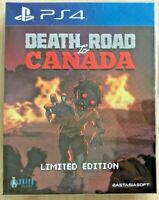 DEATH ROAD TO CANADA LIMITED EDITION PS4 ASIA FULL ENGLISH REGION FREE NEW