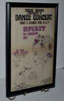 SPIRIT 1969 YOUNGBLOODS LED ZEPPELIN COMING PALACE FRAMED CONCERT POSTER / AD