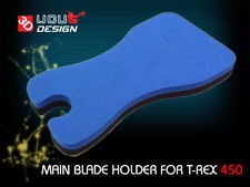2 pcs. Blue and Black Main Blade Holder For Helicopter  Trex 450