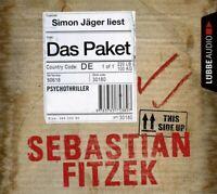 SEBASTIAN FITZEK - DAS PAKET  6 CD NEW