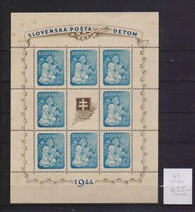 ! Slovakia 1944.   Block Stamp. YT#B1. €55.00!