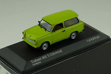 Trabant 601s Universal 1985 Green Minichamps 1 43