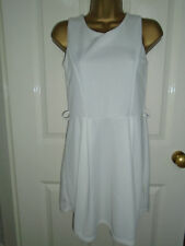 NEW Out Of Gas White Dress Size S/M