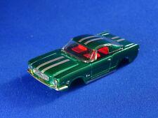 MoDEL MoToRING Candy Apple Green Fastback Mustang T-jet HO Slot Car Body Aurora