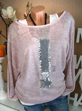 Hüftlange Damen-Pullover & -Strickware aus Viskose mit Sterne