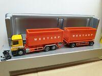 Actros HELMUT WESTARP Entsorgung  Abroll-Container Hängerzug 63741 Aschaffenburg