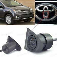 Degré large HD de CCD couleur voiture caméra de vue avant logo intégré pour Toyota RAV4