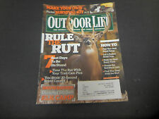 Outdoor Life Magazine,November 2009,Rule The Rut,7 Best Days to Be On Stand
