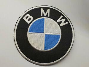 BMW LOGO iron on or sew on Patch Bayerische Motoren Werke Car company  German