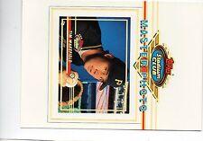 tim wakefield pirates 1993 topps stadium club 5x7 master photo