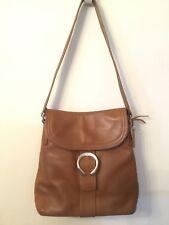Brown Leather ROLFS Shoulder Handbag