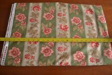 By 1/2 Yd, Red on Dk-Olive & Tan Quilting, Moda/3 Sisters/4052 13, M8467