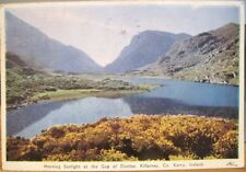Irish Postcard Morng Sunlight GAP OF DUNLOE Killarney Kerry Ireland PC DeLuxe 64