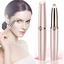 Electric Eyebrow Trimmer Painless Eye Brow Epilator Portable Facial Hair Remover