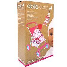 Dolls World Deluxe Dolls Stroller Toy Pushchair  8185 ~New~