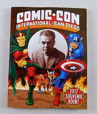 Comic Con International 2017 Souvenir Book Sdcc New Captain America Magazine