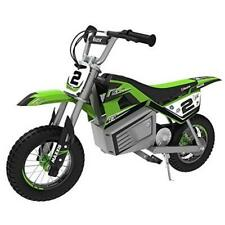Dirt Cross Pocket E-Bike Pocketcross Mini Bike Kinder Grün Razor 22km/h Akku