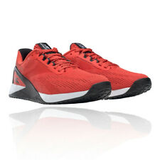 Reebok Mens Nano X1 Training Gym Fitness Shoes Trainers Sneakers Red Sports