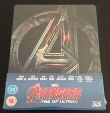 AVENGERS AGE OF ULTRON 3D Blu-Ray SteelBook LOOSE DISC Zavvi UK New OOP & Rare!