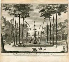 La Fontaine des Tritons ou Des Amours á Aranjuez par Van der Aa