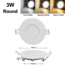 24W 18W 15W 12W 9W 6W Led Recessed Ceiling Panel Down Light Bulb Lamp Fixtures