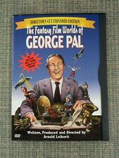 The Fantasy Film Worlds of George Pal Directors Cut Expanded Dvd Arnold Leibovit