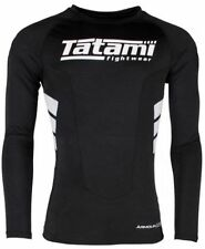 Tatami Fightwear Stealth Long Sleeve Kids Rash Guard Kompressionshemd Kinder Unisex BJJ Fitness Boxen Ubung Sportbekleidung