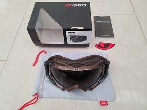 New Giro Super Fit Full Snow Goggles Root Goggle Khaki / Khaki Retro Ski