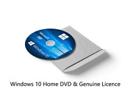 Windows 10 HOME License & Bootable 32-bit Installation CD DISC DVD