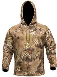 Kryptek Tartaros Men's Hoodie Sweatshirt Highlander Camo/Tan 2XLarge