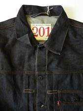 LEVI'S 201 TYPE 2 DENIM JACKET NWOT REPRO SPECIAL EDITION XL DARK BLUE LJKTA880