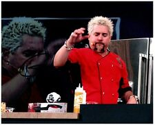 GUY FIERI Signed Autographed DINERS DRIVE-INS AND DIVES 8X10 Photo M 'TRIPLE-D'