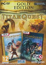 TITAN QUEST W/IMMORTAL THRONE GOLD EDITION PC SEALED NEW