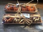 2 Gardeners Eden Sets Of 4 Pumpkin Small Decorative Candles Fall Halloween