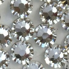 Swarovski nail art crystals 250 x SS7 diamantes rhinestone Clear diamond glue on