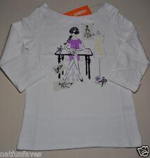 Gymboree girl size 5 NWT fashion designer paris tee shirt top girls