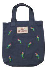 Hollister Book Bag Tote Bag Shoulder Purse Back To School Carrier Parrots