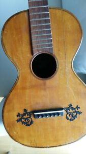 Gitarre ca. 1840  romantique guitare  ancienne