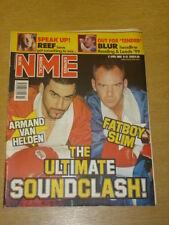 NME 1999 APRIL 17 ARMAND VAN HELDEN FATBOY SLIM BLUR