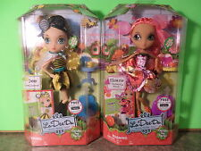 Lot of La Dee Da Garden Tea Party SLOANE as Butterfly & DEE as Bee-Licious Dolls